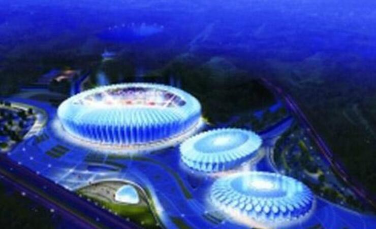 博西尼中标西南安顺奥体中心项目